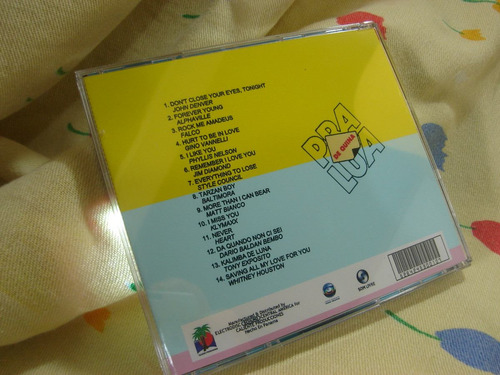 de quina pra lua trilha internacional novela cd remasterizad