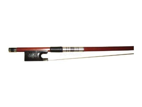 de tamaño 4/4 montado en plata de arco de violín, brasil, i