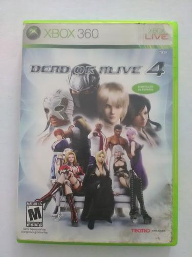 dead alive xbox 360