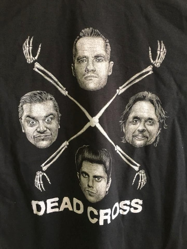 dead cross - hardcore punk / metal - polera- cyco records