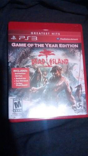 dead island 1 goty game of the year completo al 100 ps3