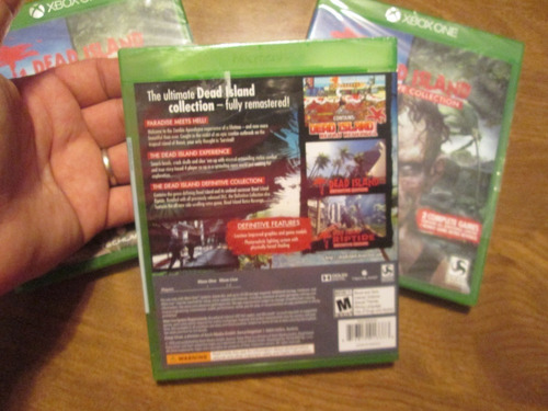dead island: definitive collection xbox one nuevo sellado d