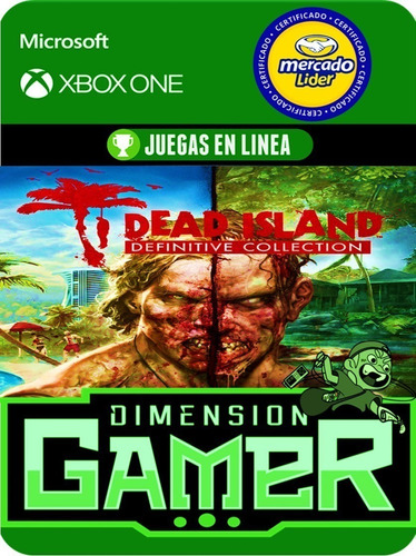 dead island definitive collection - xbox one online/offline