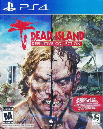 dead island definitive edition ps4, disco, nuevo y sellado