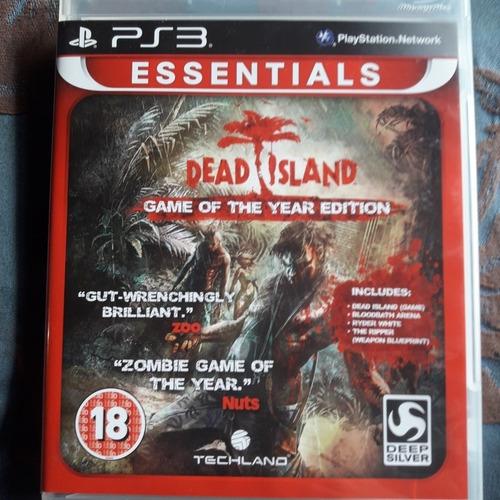 dead island essentials - mídia física ps3