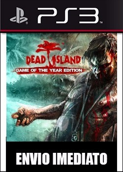 dead island game of the year + dlc ps3 psn - midia digital
