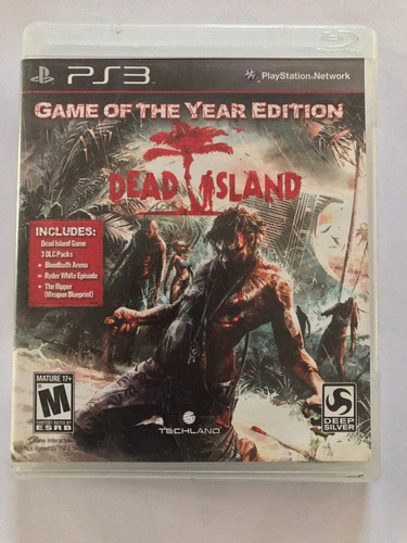 dead island- game of the year edition! ps3
