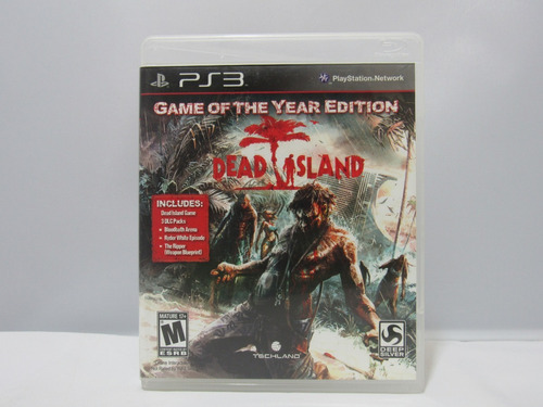dead island: game of the year edition - ps3 ¡fisico-usado!