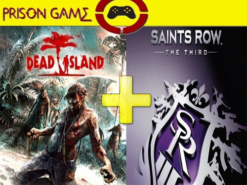 dead island game of the year edition & saints row the third