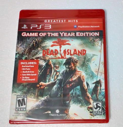 dead island goty ps3 nuevo español envio gratis