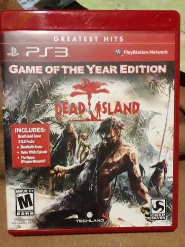 dead island ps3 fisico (seminuevo)
