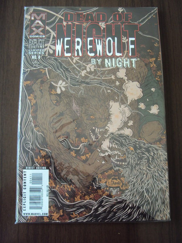 dead of night - werewolf by night - 4 edições - importada
