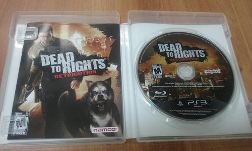 dead of rights ps3 mídia física
