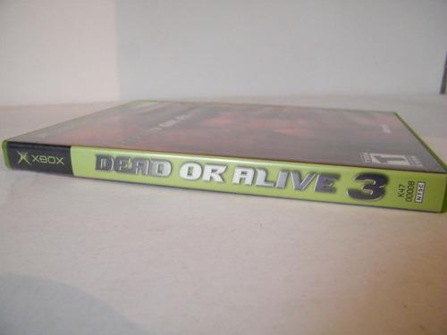dead or alive 3 x box