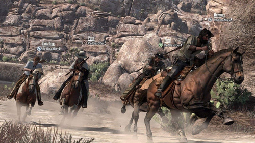 dead redemption red