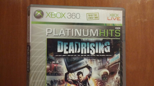 dead rising 1 (con manual) xbox 360 od.st