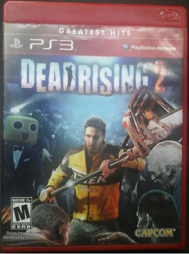 dead rising 2 - físico - ps3 - envío gratis