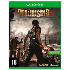 Dead Rising 3 Xbox One Lacrado Mídia Física Em Português