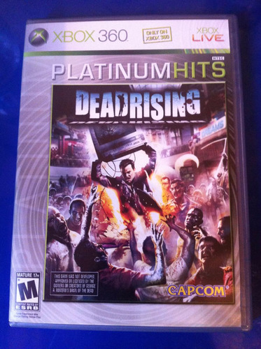 dead rising xbox 360 edición platinum hits (muy buen estado)