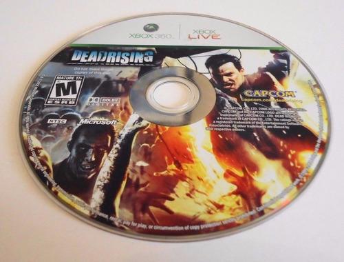 dead rising xbox 360 solo disco sin caja usado envio gr pp