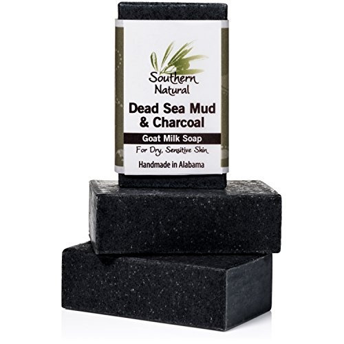 dead sea mud soap bars - for acne, psoriasis & eczema. made