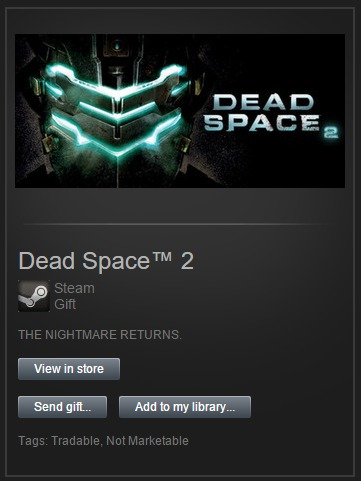 dead space 2 steam