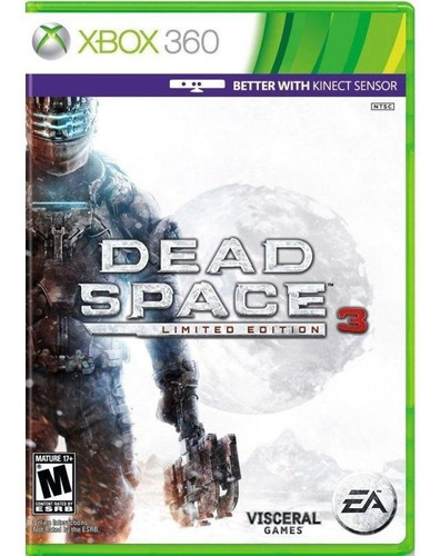 dead space 3 edição limitada xbox 360 mídia física lacrado