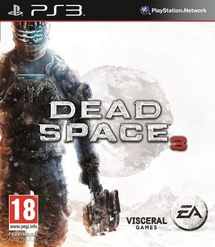 dead space 3 ps3 + 8 dlc contenido extra