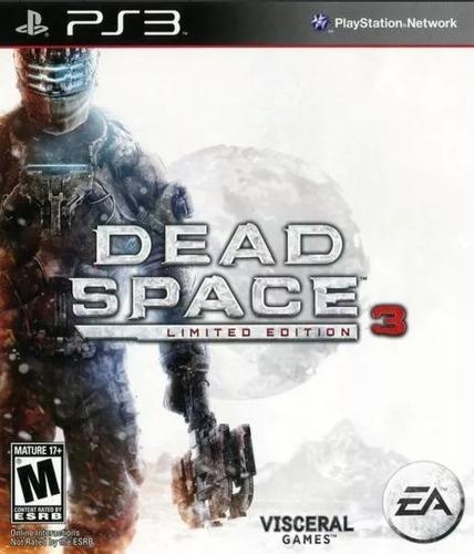 dead space 3 ps3 ultimate edition + dlcs español