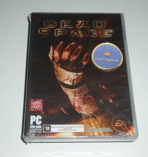 dead space terror ¦ jogo pc original lacrado ¦ mídia física
