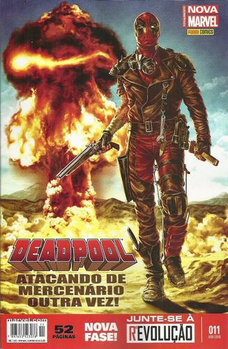 deadpool 11 3ª serie - panini - bonellihq cx106 i19