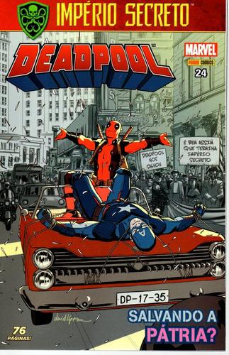 deadpool 24 4ª serie - panini - bonellihq cx179 m20