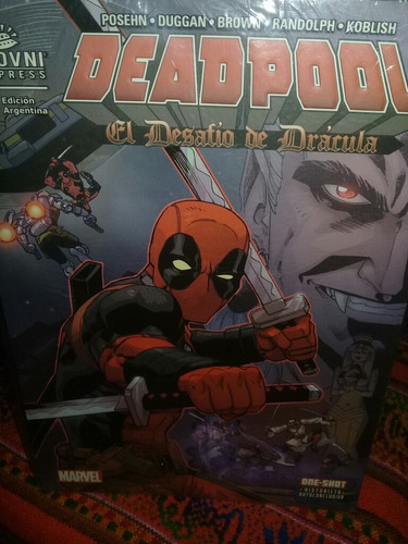 deadpool  el destino de dracula  marvel comics ovni press