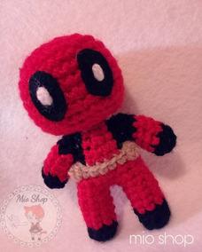 LoopTeeLoops: Deadpool Crochet Pattern   284x228