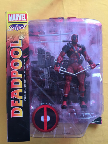 deadpool marvel select