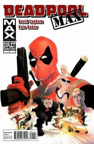 deadpool max 1 cómics digital español