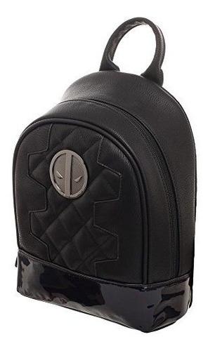 deadpool mini mochila acolchada metalica