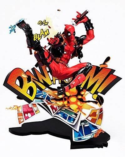 Deadpool Rompiendo La Cuarta Pared De Pvc Estatua