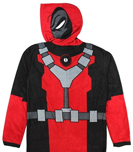 deadpool (x-men) traje - capucha de material de abrigo de u