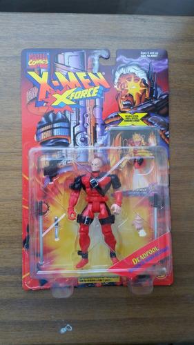 deadpool  x -men ( x - force )  toy biz 1995