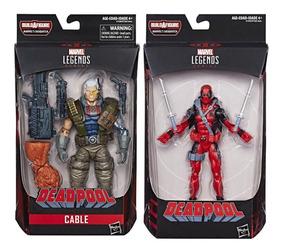 Gratis Y Deadpool Cable Marvel Legends Envío Sasquatch GVpSqUMz