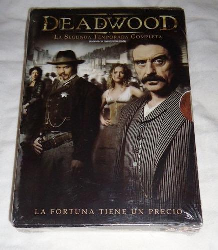 deadwood segunda temporada 2 dos dvd