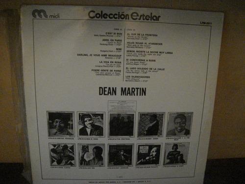 dean martin lp coleccion estelar