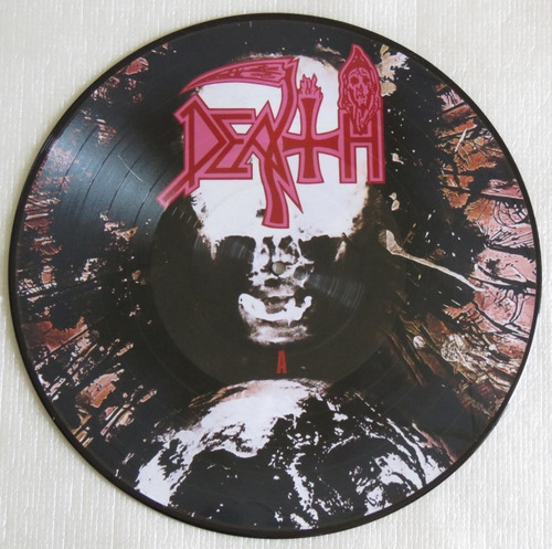 death individual thought patterns lp picture limitado 300