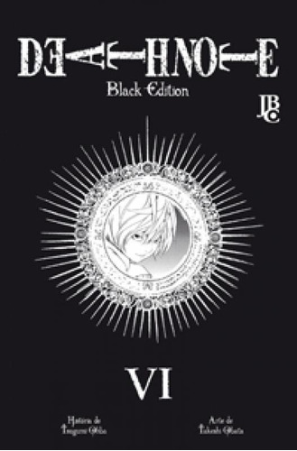 death note 6 - black edition - jbc