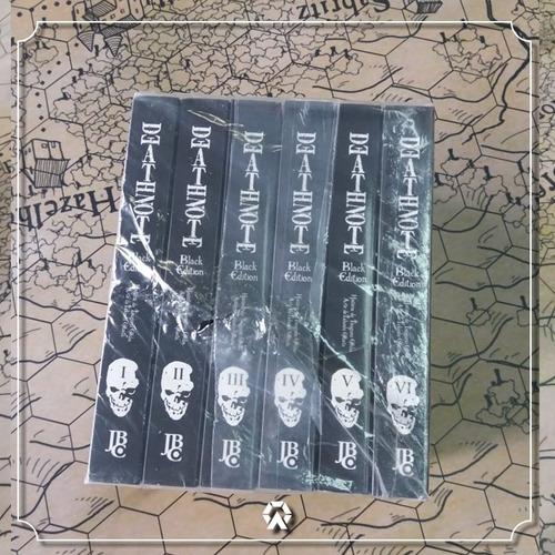 death note black edition (coleção completa #01 - #06)