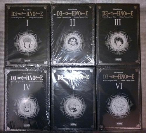 death note black edition completo ed norma envio gratis