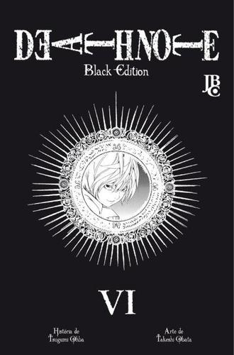 death note black edition - vol. vi