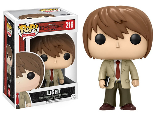 death note boneco pop funko light #216 * pronta entrega
