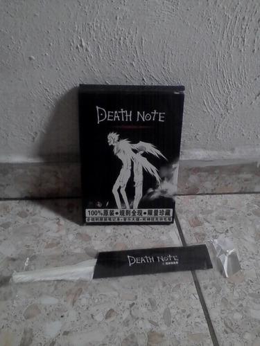 death note + cd+ pluma importado